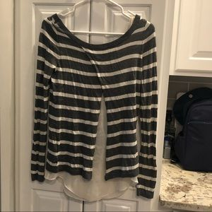 EUC size xtra small Express open back sweater